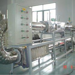 thí nghiệm sấy tuần hoàn khí thải