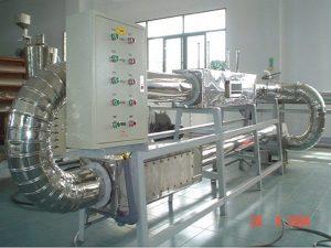 Hình ảnh hệ thí nghiệm sấy tuần hoàn khí thải