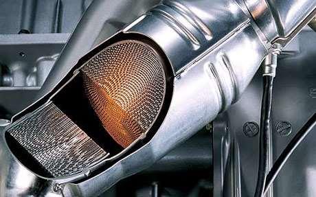cấu tạo bộ lọc khí thải ô tô