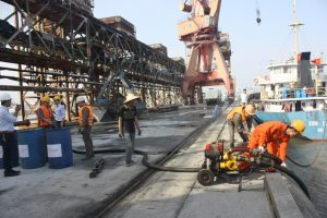 Công ty CP DAP  tổ chức Diễn tập ứng phó sự cố tràn dầu