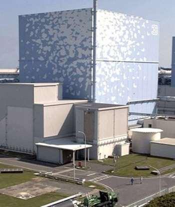 Lò phản ứng số 3 của nhà máy điện hạt nhân Fukushima Daiichi trước khi vụ nổ xảy ra hôm 14/3. Ảnh: AP.