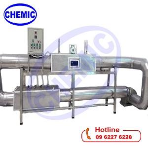 Hệ thí nghiệm sấy tuần hoàn khí thải