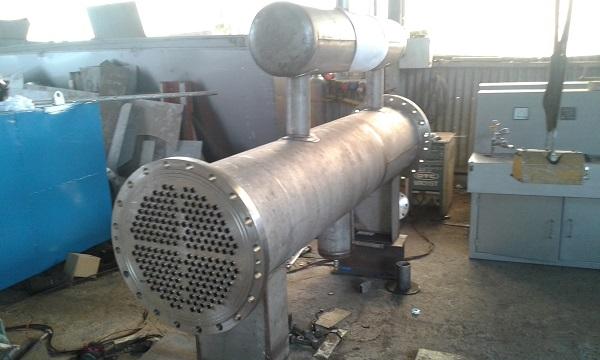 hình ảnh gia công thiết bị trao đổi nhiệt