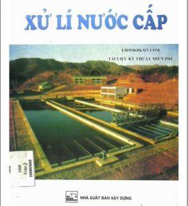 Giáo trình xử lý nước cấp-TS.Nguyễn Ngọc Dung