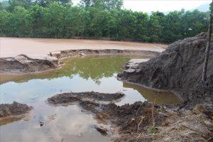 Xử lý nước thải các khu khai thác mỏ bằng khoáng và polime