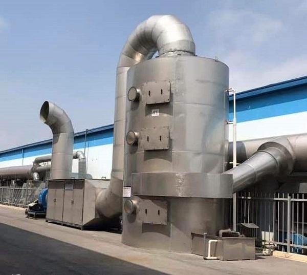 Hình ảnh tháp xử lý khí thải