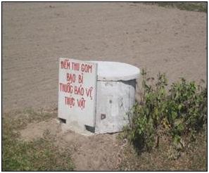 Hướng dẫn thu gom, xử lý chất thải nguy hại ở đồng ruộng