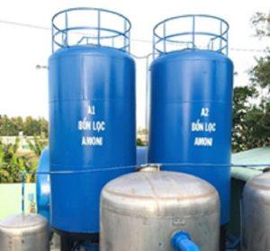 thiết bị xử lý amoni trong nước